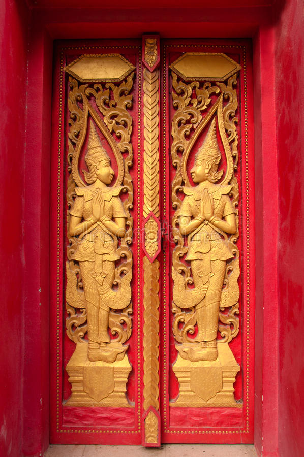 Download Windows of Thai temple stock image. Image of frame, craft - 25662041