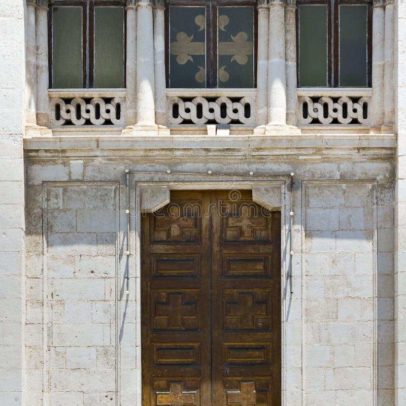 Windows und Tür stockfotos
