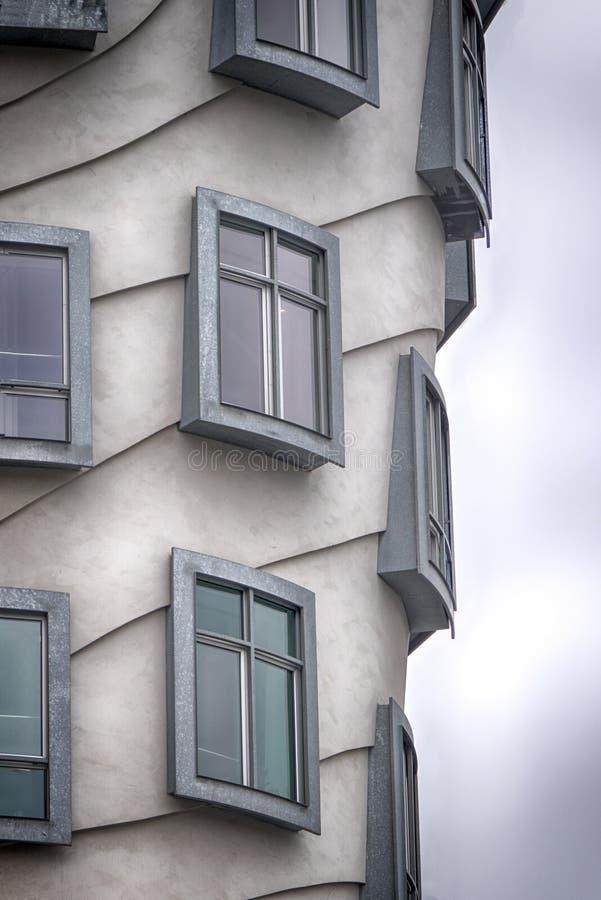 Windows von Prag lizenzfreies stockbild