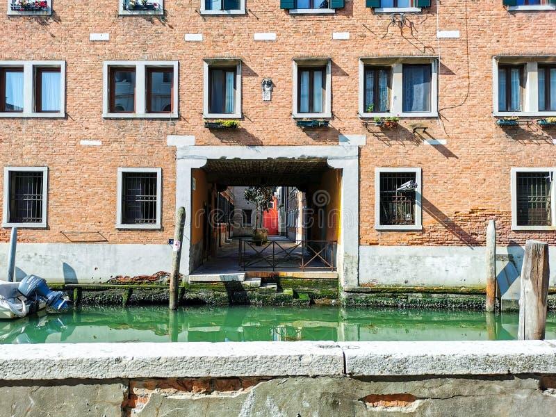Windows von Venedig stockbild