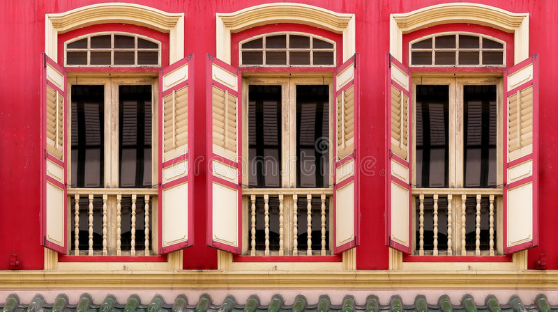 Windows in Windows royalty free stock image