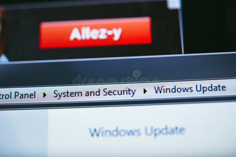 Download Windows XP Update editorial stock image. Image of globalization - 39657184