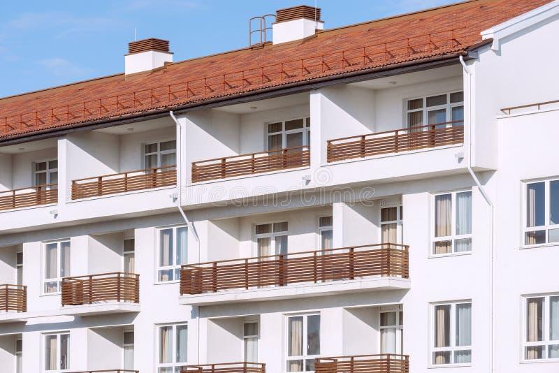 Windows y balcones foto de archivo libre de regalías