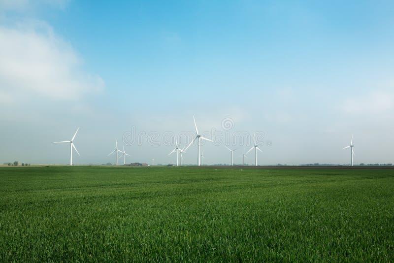Windpark lizenzfreies stockfoto