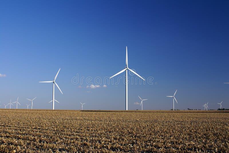Windpark stockfoto