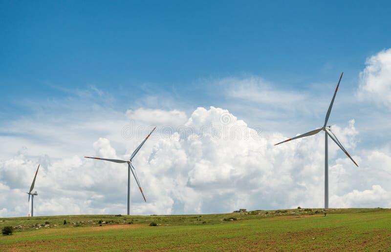 Windpower zdjęcie royalty free