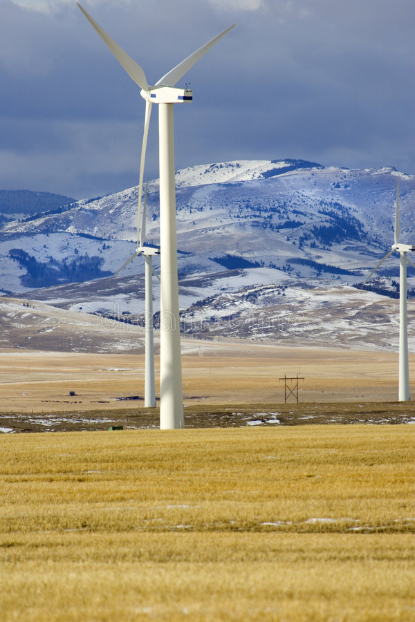 Download Windpower 2 stock image. Image of wind, green, machine - 464961