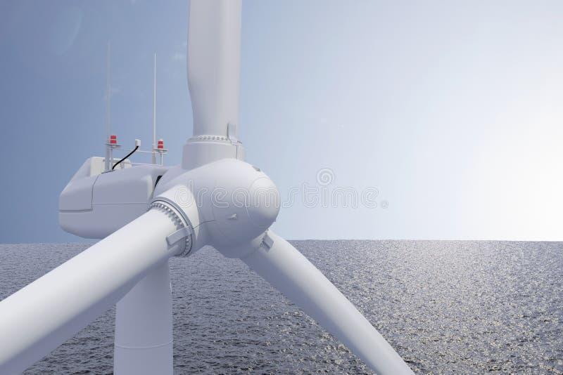 Windpower stock fotografie
