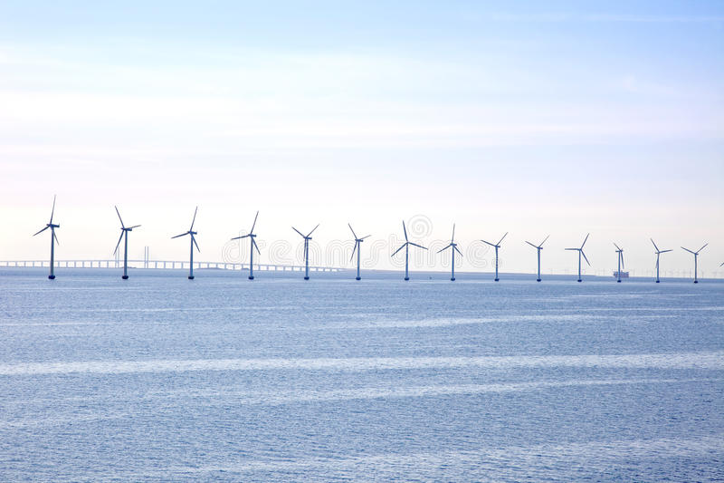 Windpower стоковое фото rf