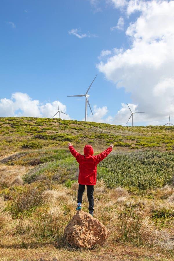 Windpower zdjęcie stock
