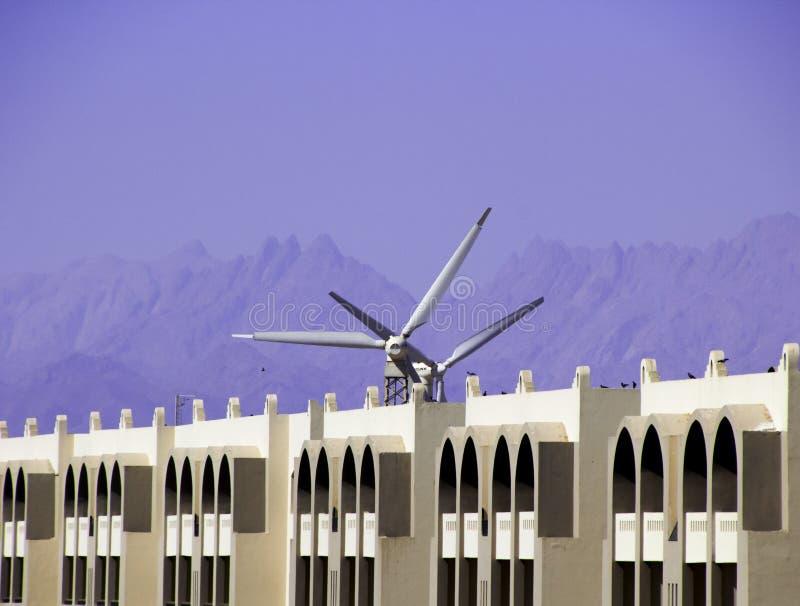 Windpower royaltyfri bild