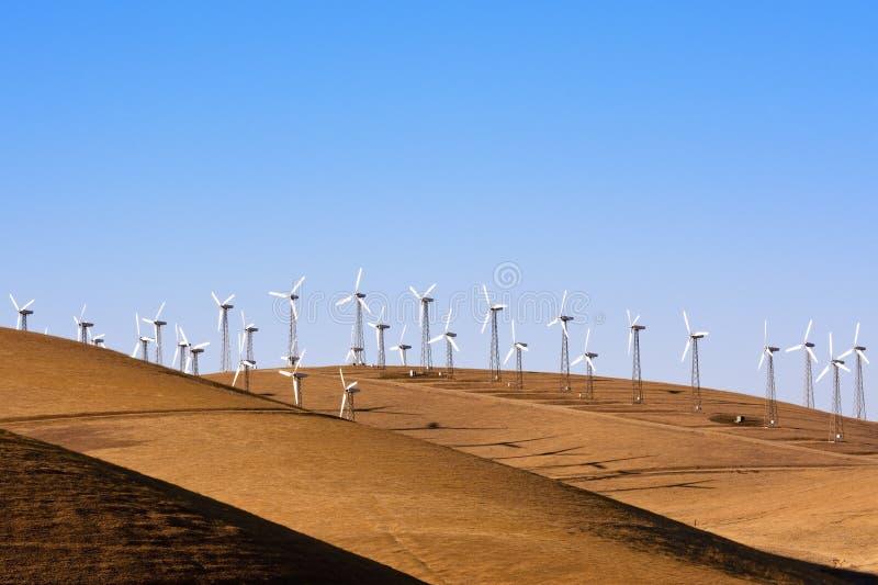 Windpower in California immagini stock