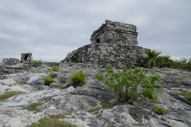Download Winds God Temple at Tulum stock photo. Image of stone - 12948302