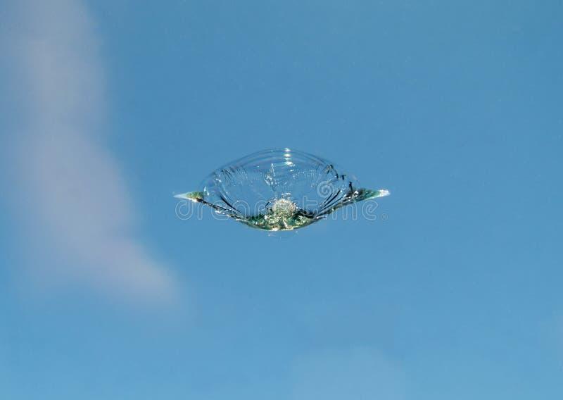 Windschutzscheibenfelsenchip lizenzfreie stockfotografie