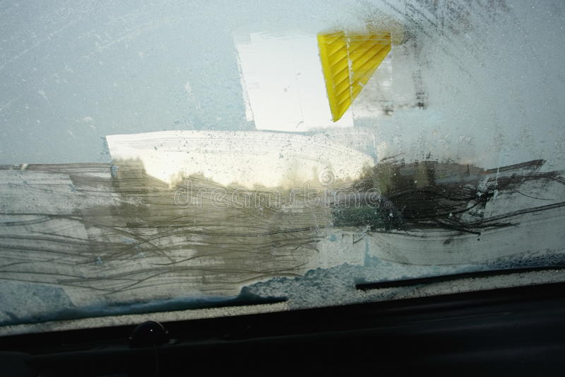 windshield стоковое фото