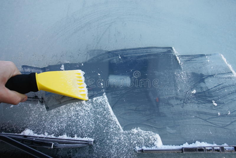 windshield стоковое изображение