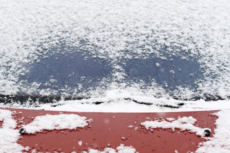 Download Windshield wiper stock image. Image of frost, windshield - 12181551
