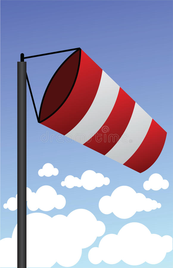 Windsock vector illustratie
