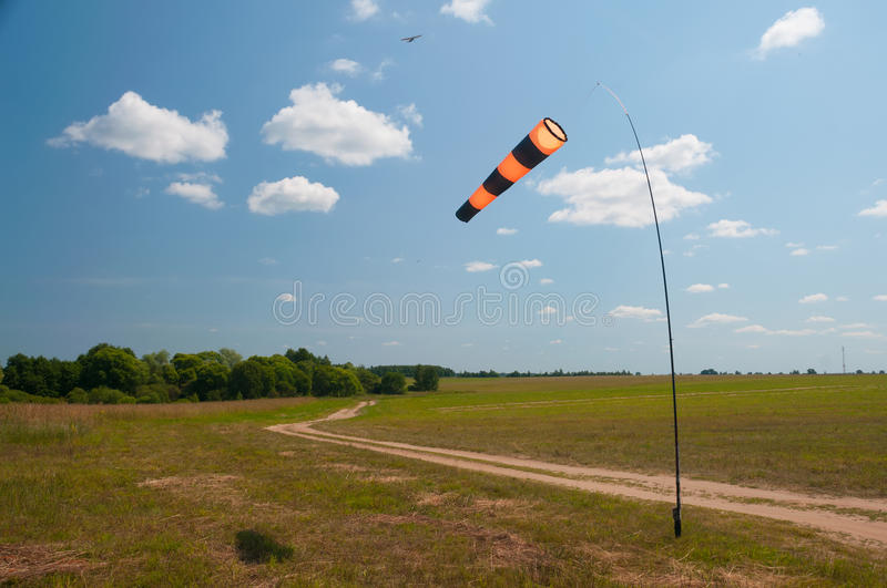 Download Windsock stock photo. Image of direction, storm, indicator - 25744416