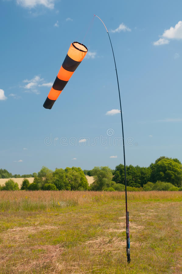Download Windsock stock photo. Image of strength, direction, sand - 25744422
