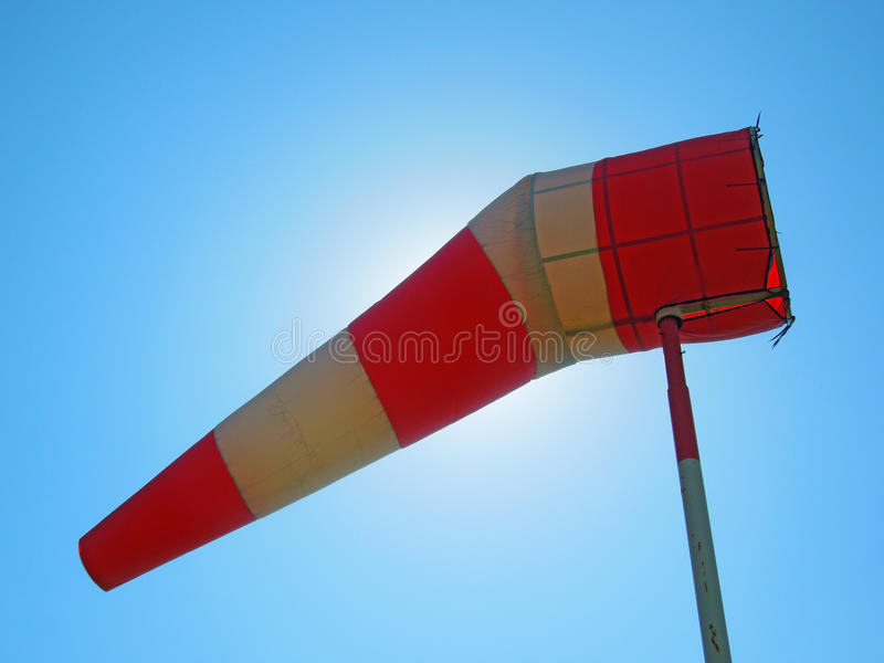 windsock arkivbild