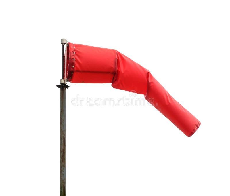 Windsock, der die Position des Winds poiting ist lizenzfreie stockbilder