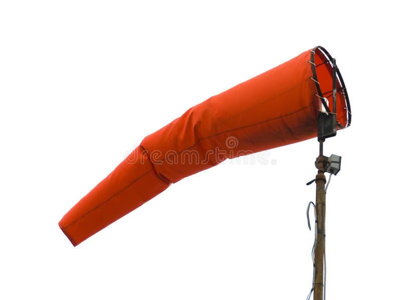 Windsock di aeronautica fotografia stock