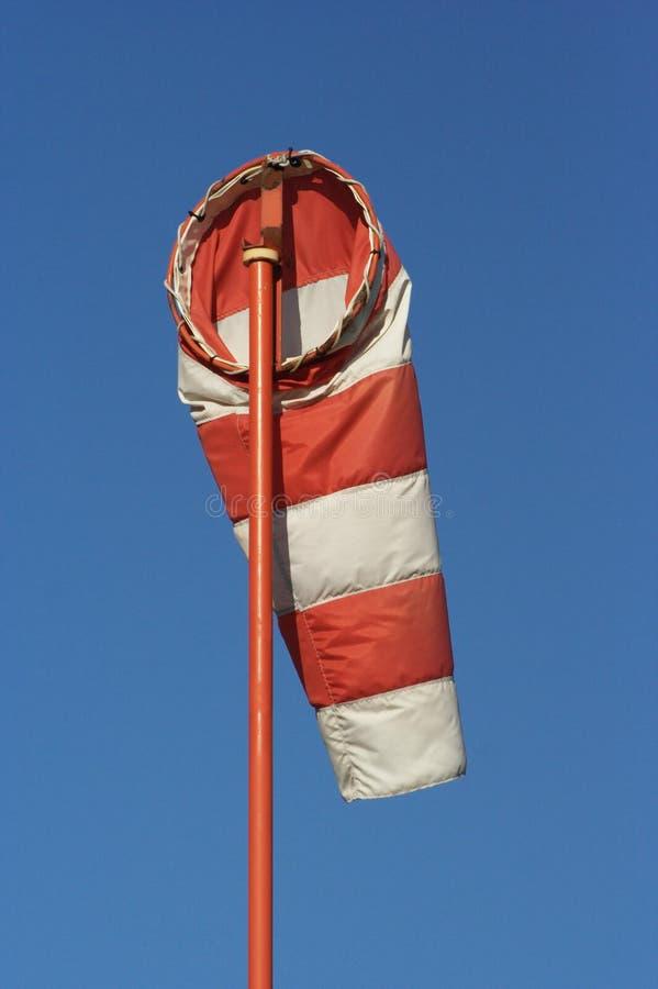 Windsock frouxo fotografia de stock