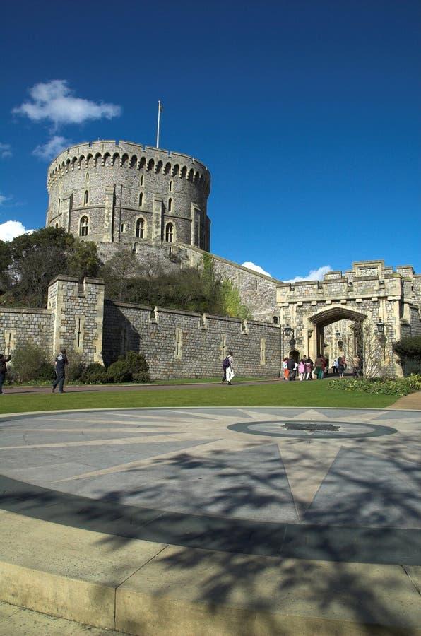 windsor башни замока стоковые изображения