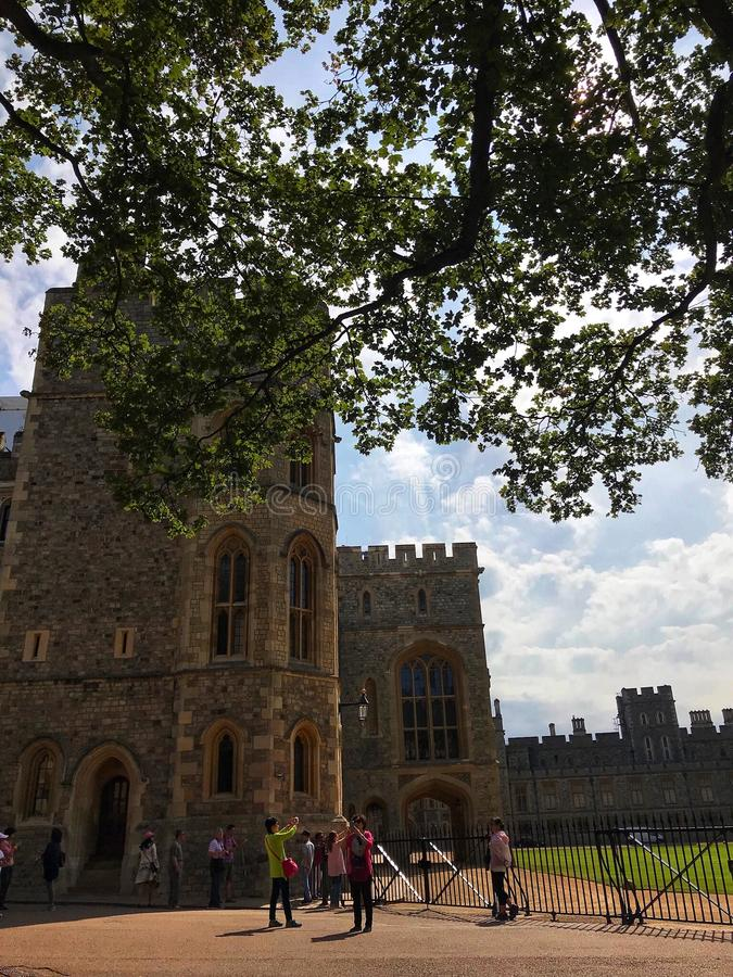 Windsor Castle photos libres de droits