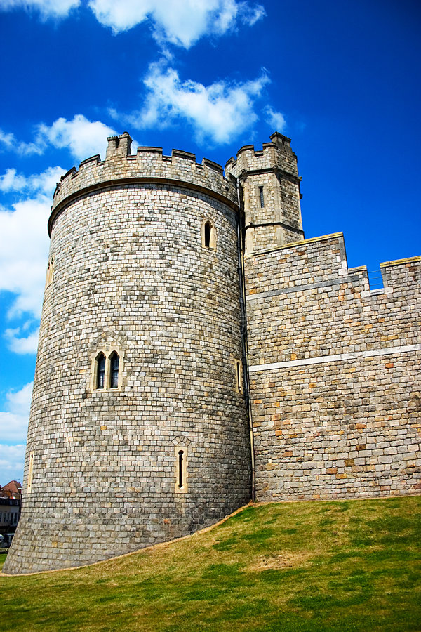 Windsor Castle stock photography