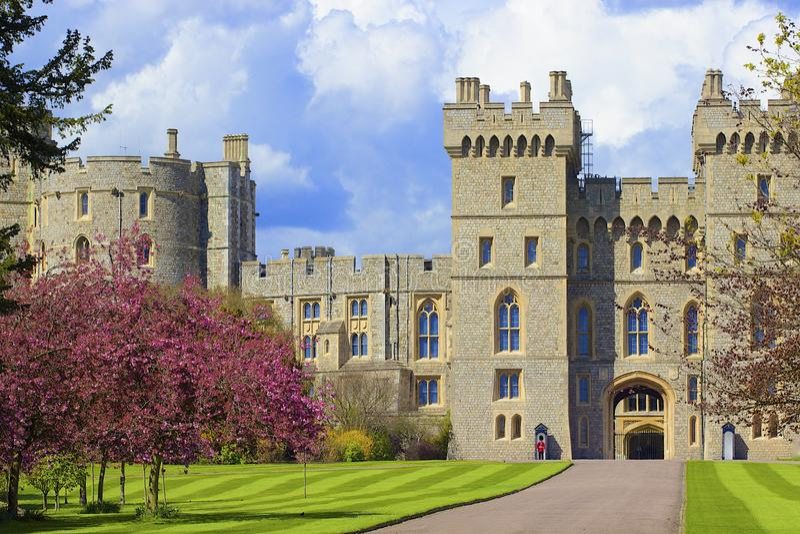 Windsor Castle, Angleterre images libres de droits