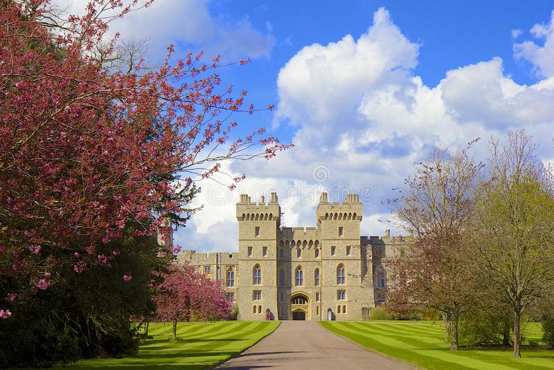 Windsor Castle, Angleterre photographie stock