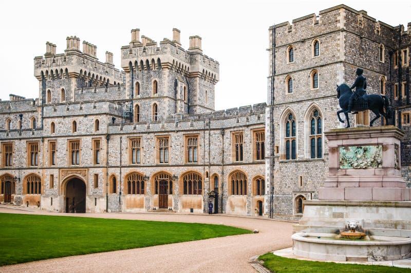 Windsor Castle Berkshire, Reino Unido fotografía de archivo