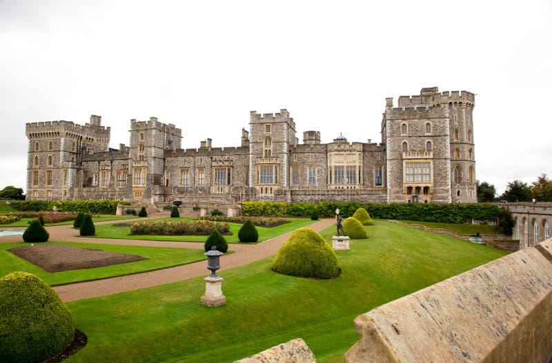 Windsor Castle in Berkshire in Zuidelijk Engeland stock afbeeldingen