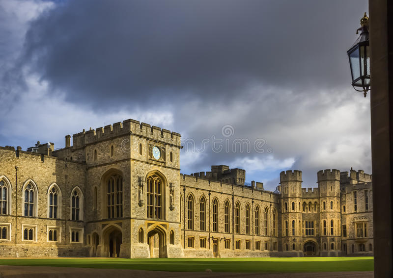 Windsor Castle Court fotografía de archivo