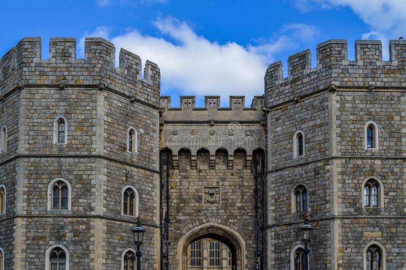Windsor Castle en Inglaterra Reino Unido imagen de archivo libre de regalías