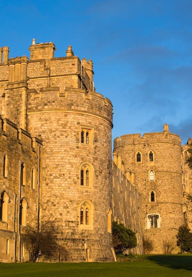 Windsor Castle England royaltyfri fotografi