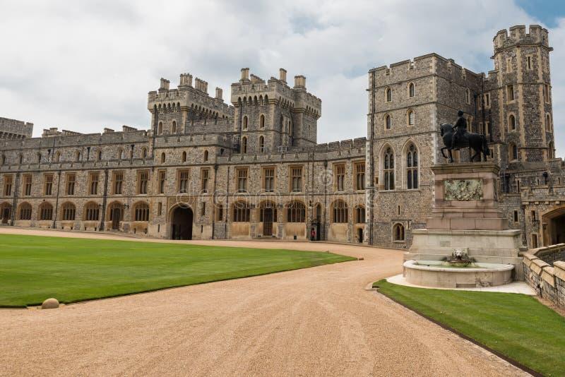 Windsor castle. Historic Windsor castle in united kingdom stock image