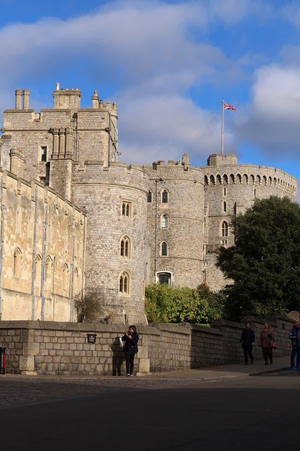 Windsor Castle - Koninklijke Woonplaats royalty-vrije stock afbeeldingen