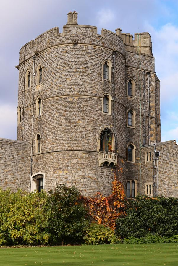 Windsor Castle - Koninklijke Woonplaats royalty-vrije stock foto's