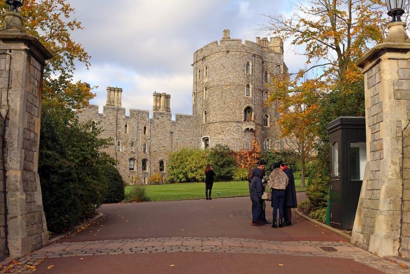 Windsor Castle - Koninklijke Woonplaats stock afbeelding