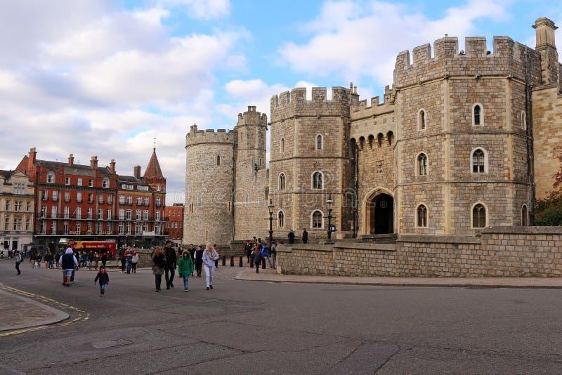 Windsor Castle - Koninklijke Woonplaats stock fotografie