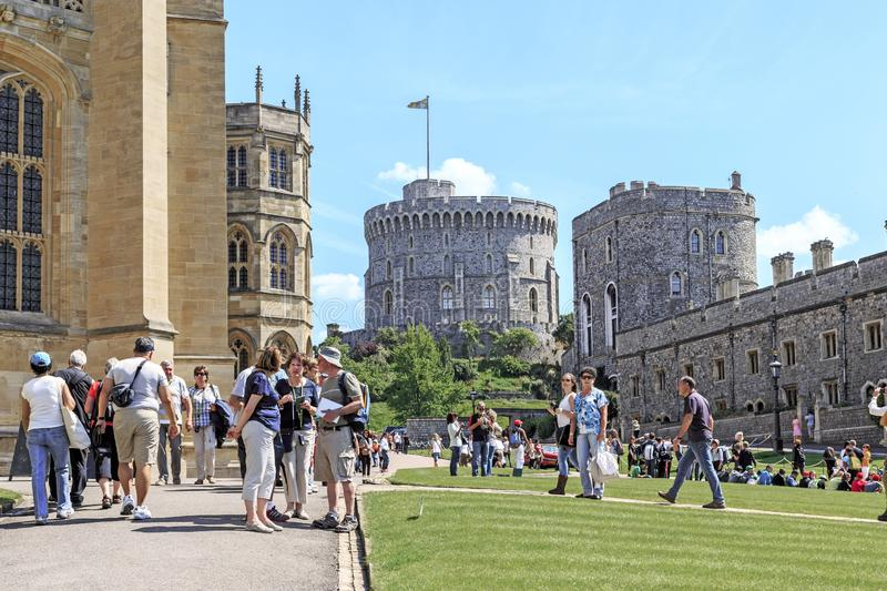 Windsor Castle, Regno Unito fotografie stock