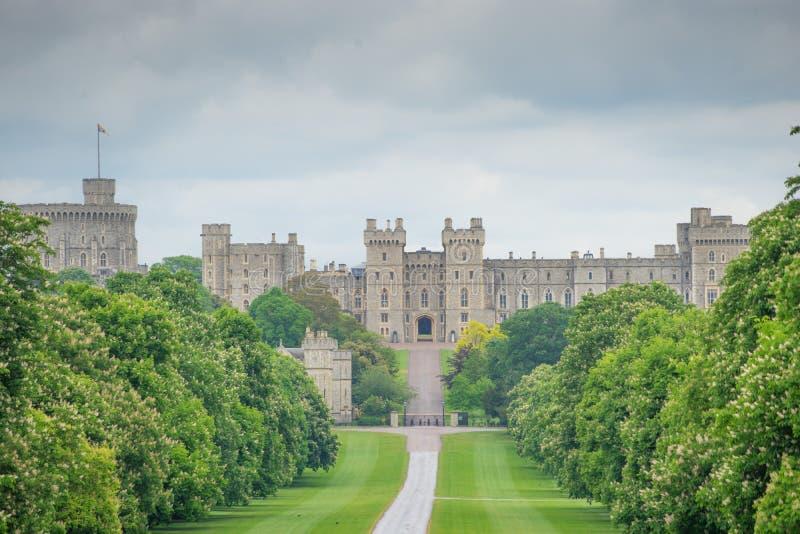 Windsor Castle, Reino Unido fotografía de archivo libre de regalías