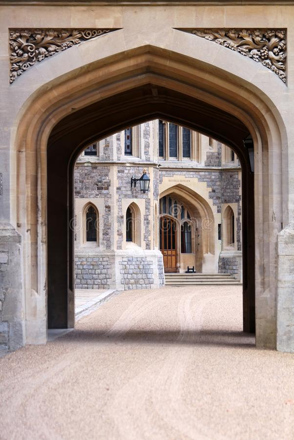 Windsor Castle - residenza reale immagine stock