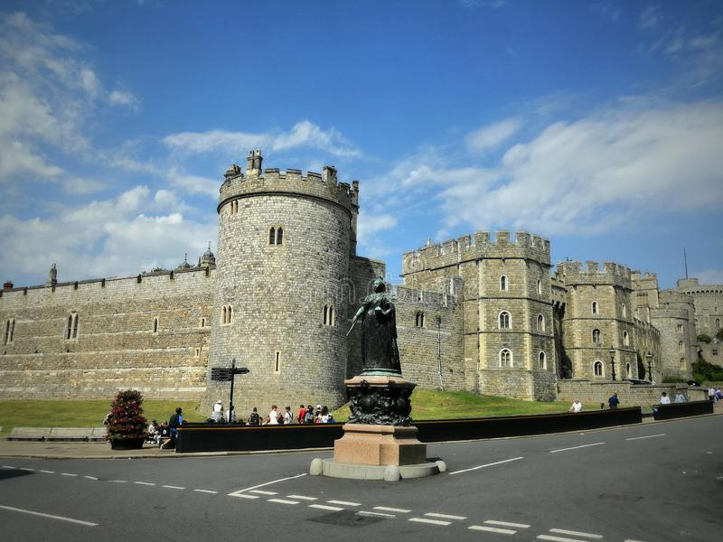Windsor Castle is a royal residence at Windsor in the English county of Berkshire. It is notable for its long association. With the English and later British stock photography