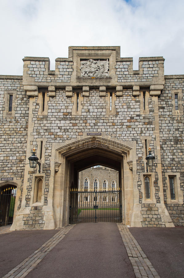 Windsor Castle. St George's Gate royalty free stock photography