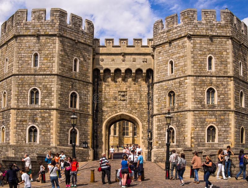 Windsor Castle Tourism England fotografia stock