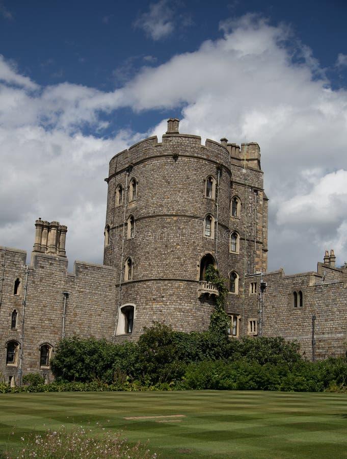 Windsor Castle Tower stock image